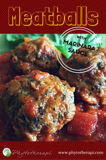 Meatballs with Marinara Sauce (Draft 1)