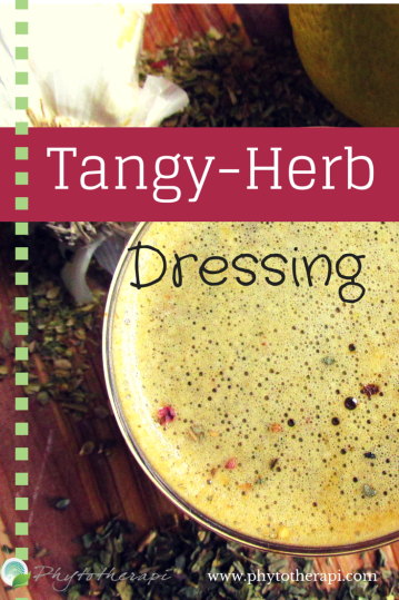 Tangy-Herb Dressing (Draft 1)