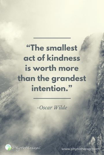 The Smallest Act of Kindness...