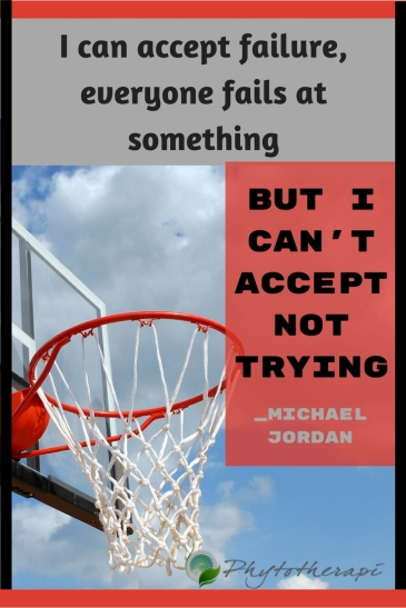 I can accept failure,everyone fails at something