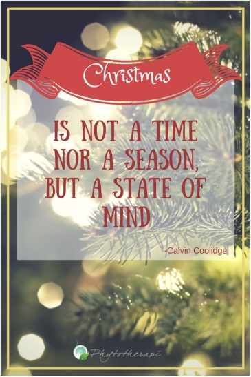 Christmas is not a time nor a season,