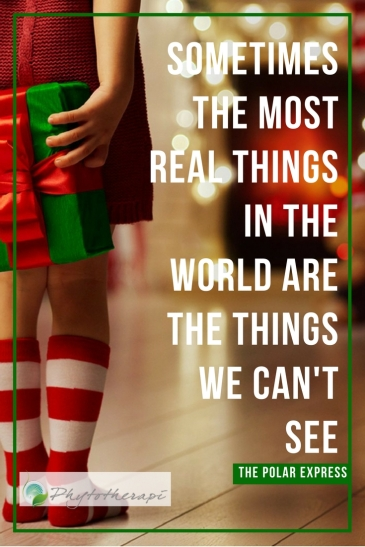 Sometimes the most Real things inthe world arethe thingswe can't See